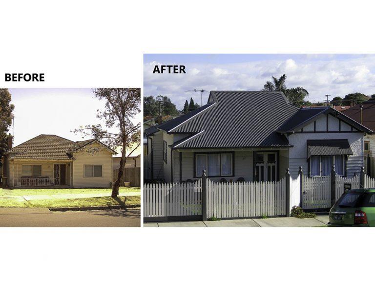 Brunswick before & after