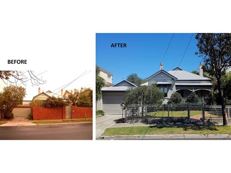Murrumbeena Extension - before & after