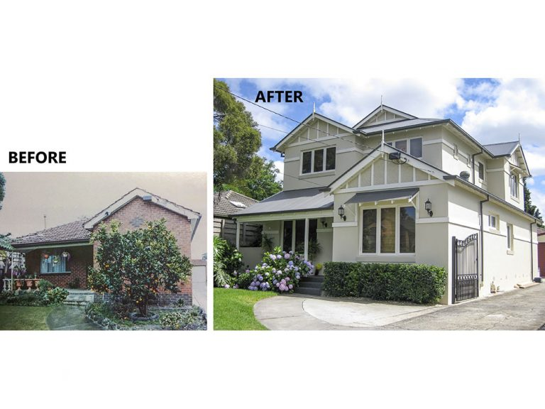 Oakleigh South Upper Extension before & after
