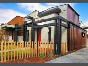 Fairfield project, house design solutions